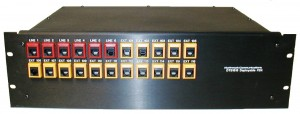 RTS1616P rack mountable PBX telephone system for EOCs and command vehicles